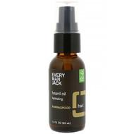 Every Man Jack Beard Oil Hydrating Sandalwood -- 1 fl oz