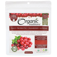 3 PACK OF Organic Traditions, Daily Probiotic Cranberry Supreme, 2.12 oz (60 g)