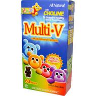 Yum-Vs, Multi-V + Multi-Mineral Formula, Milk Chocolate Flavor, 60 Bears