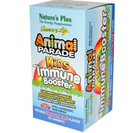 Natures Plus, Source of Life, Animal Parade, Kids Immune Booster, Natural Tropical Berry Flavor, 90 Animals