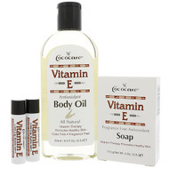 Cococare, Vitamin E Gift Bag, 4 Pieces