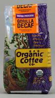 The Organic Coffee Co, Ground Coffee,  Gorilla Decaf - 12 oz