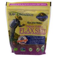 Garden of Life, Organic Golden Flax Seed + Raw Organic Antioxidant Fruit, 12 oz (340 g)