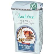 Audubon Premium Coffee, Organic Whole Bean French Roast, 12 oz (340 g) - 2 PACK
