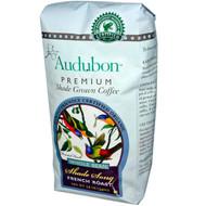 Audubon Premium Coffee, Organic Whole Bean Rainforest Blend, 12 oz (340 g) - 2 PACK