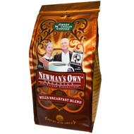 Green Mountain Coffee, Newmans Own Organics, Nells Breakfast Blend, Light Roast Ground, 10 oz (283 g)