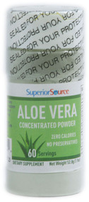 Superior Source, Aloe Vera Concentrated Powder - 1.9 oz