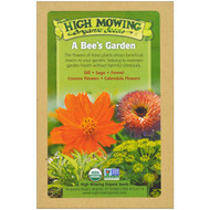 High Mowing Organic Seeds, A Bees Garden, Organic Seed Collection, Variety Pack, 5 Packets