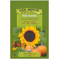 High Mowing Organic Seeds, Kids Garden Organic Seed Collection, Variety Pack, 5 Packets