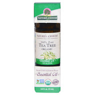Natures Answer, Organic Essential Oil, 100% Pure Tea Tree, 0.5 fl oz (15 ml)