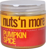 Nuts N More High Protein Peanut Spread Pumpkin Spice - 16 oz