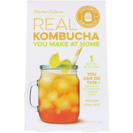 Cultures for Health, Real Kombucha, Start Culture, 1 Packet, .08 oz (2.4 g)