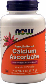 NOW Foods Calcium Ascorbate Powder - 8 oz