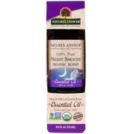Natures Answer, Organic 100% Pure Essential Oil, Night Snooze, 0.5 fl oz (15 ml)