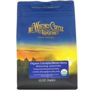 Mt. Whitney Coffee Roasters, Organic Colombia Monte Sierra, Medium Roast Ground Coffee, 12 oz (340 g)