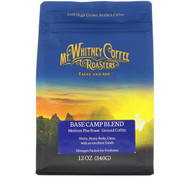 Mt. Whitney Coffee Roasters, Base Camp Blend, Medium Plus Roast, Ground Coffee, 12 oz (340 g)