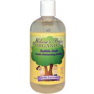 Natures Baby Organics, Bubble Bath, Gentle Moisturizing Bubbles, Lovely Lavender, 12 fl oz (355 ml)