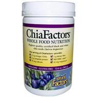 Natural Factors, Chia Factors, Whole Food Nutrition, 12.6 oz (360 g)