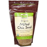 Now Foods, Real Food, Organic Milled Chia Seed, 10 oz (284 g)