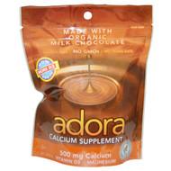 Adora, Calcium Supplement, Milk Chocolate, 30 Disks