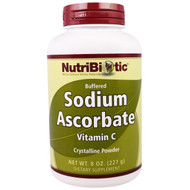 NutriBiotic, Buffered Sodium Ascorbate Vitamin C Crystaline Powder, 8 oz (227 g)