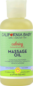 California Baby, Calming Massage Oil - 4.5 fl oz