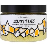 Indigo Wild, Zum Tub, Epsom & Sea Salts, Turmeric, 12 oz (340 g)