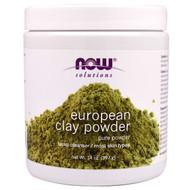 Now Foods, European Clay Powder, Facial Cleanser, 14 oz (397 g)