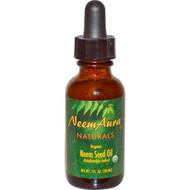 Neemaura Naturals Inc, Organic, Neem Seed Oil, 1 fl oz (30 ml)
