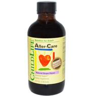 ChildLife, Essentials, Aller-Care, Natural Grape Flavor, 4 fl oz (118.5 ml)