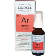 Liddell Homeopathic Arthritis Spray - 1 fl oz