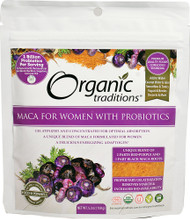 Organic Traditions Maca For Women With Probiotics -- 5.3 oz