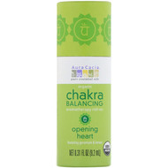 3 PACK OF Aura Cacia, Organic Chakra Balancing Aromatherapy Roll-On, Opening Heart, 0.31 fl oz (9.2 ml)