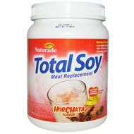Naturade, Total Soy, Meal Replacement, Horchata Flavor, 19.05 oz (540 g)