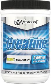 Vitacost Creatine Powder Creapure(R) - 1.1 lbs (500 g)