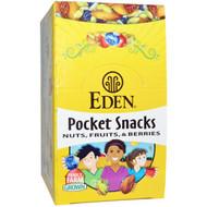 Eden Foods Quiet Moon Pocket Snacks -- 12 Packages