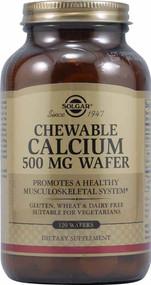 Solgar Chewable Calcium - 500 mg - 120 Wafers