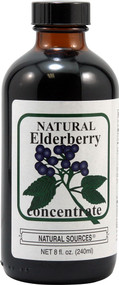 3 PACK of Natural Sources Elderberry Concentrate -- 8 fl oz