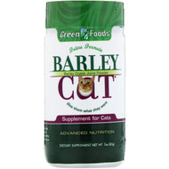 Green Foods Barley Cat -- 3 oz
