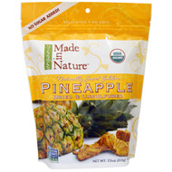 Made in Nature, Pineapple, Dried & Unsulfured, 7.5 oz (213 g)