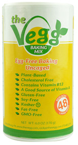 The Vegg, Egg Replacer Baking Mix Gluten Free - 6 oz
