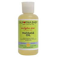 California Baby, Massage Oil Eucalyptus Ease - 4.5 fl oz