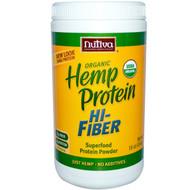 Nutiva, Organic Hemp Protein, Hi-Fiber, 16 oz (454 g)