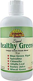 Dynamic Health, Healthy Greens Liquid - 32 fl oz