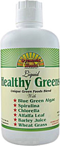 Dynamic Health Healthy Greens Blend -- 32 fl oz