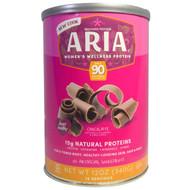 Designer Protein, Aria, Womens Wellness Protein, Chocolate, 12 oz (340 g)
