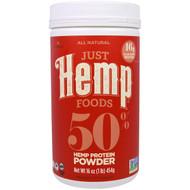 Just Hemp Foods, 50% Hemp Protein Powder, 16 oz (454 g)