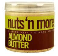 Nuts N More, High Protein + Almond Spread,  Almond Butter - 16 oz