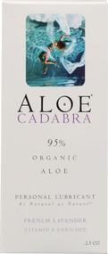 Aloe Cadabra Personal Lubricant French Lavender -- 2.5 oz