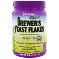 Bluebonnet Nutrition Super Earth Brewers Yeast Powder Non-Bitter Unflavored -- 7.4 oz